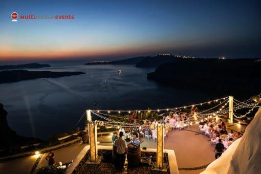 Multimedia Events NaidoWedding Santorini