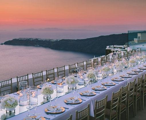Naido Wedding La Maltese Estate Villa Santorini Island