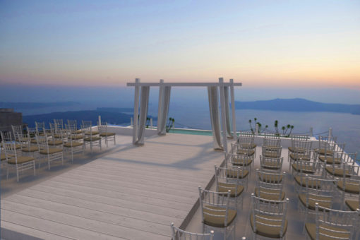 Naido Wedding La Maltese Estate Villa Santorini Island
