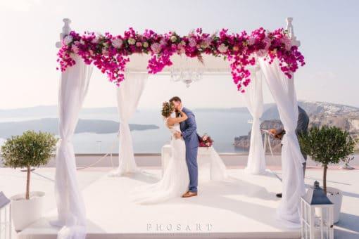 Naido Wedding Package Aphrodite Santorini
