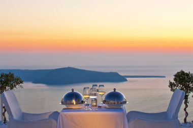 Above Blue Suites in Santorini - Naido Wedding
