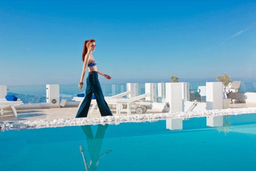 Above Blue Suites in Santorini - Naido Wedding