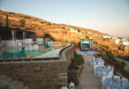 Aeolis Tinos Suites in Tinos - Naido Wedding