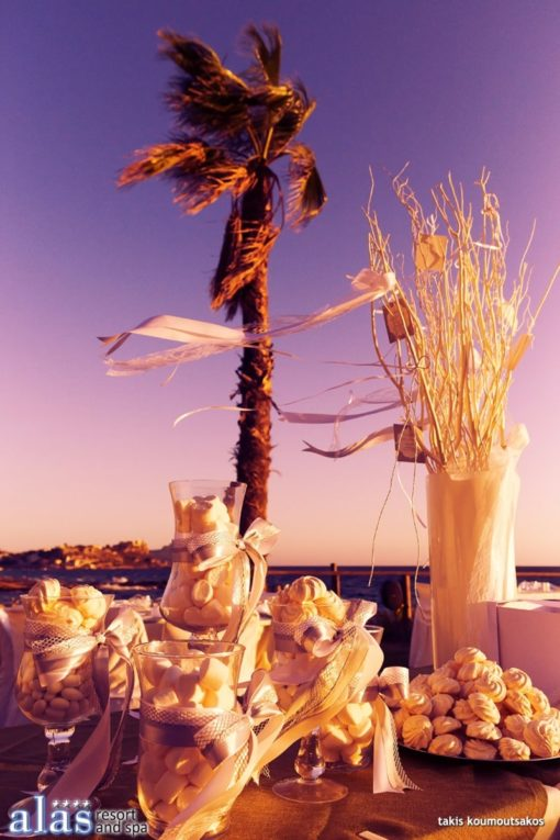 Alas Resort and Spa in Monemvasia - Naido Wedding
