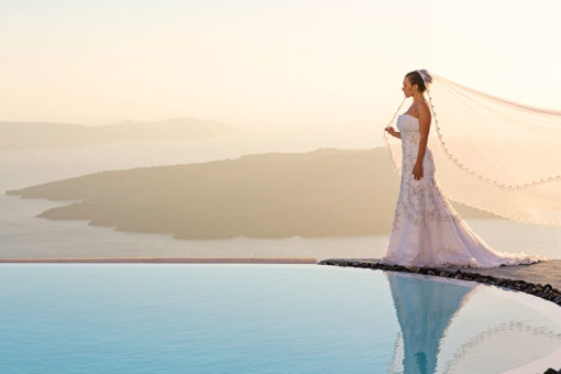 Alta Vista in Santorini - Naido Wedding