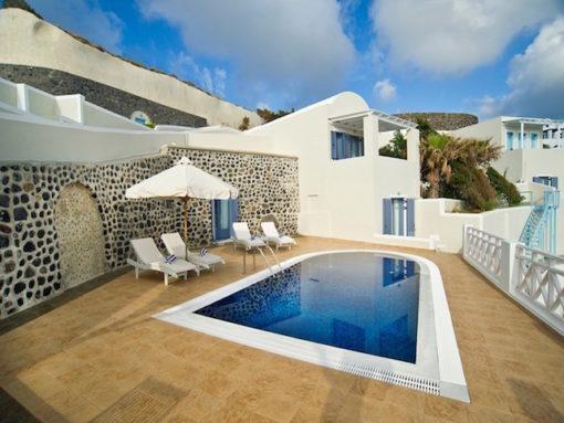 Aphrodite Villas in Santorini - Naido Wedding