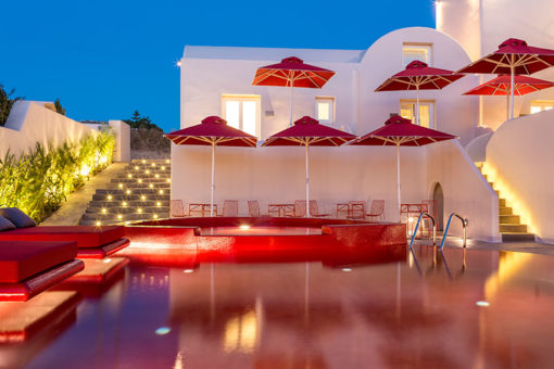 Art Hotel in Santorini - Naido Wedding
