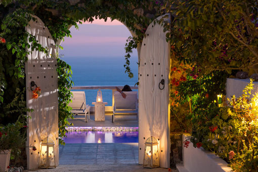 Athermi Suites in Santorini - Naido Wedding