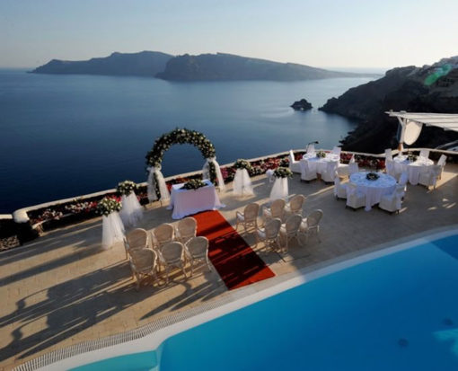 Canaves Oia in Santorini - Naido Wedding