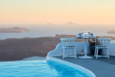 Chromata Hotel in Santorini - Naido Wedding