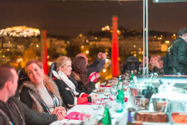 Dinner in the Sky in Athens - Naido Wedding