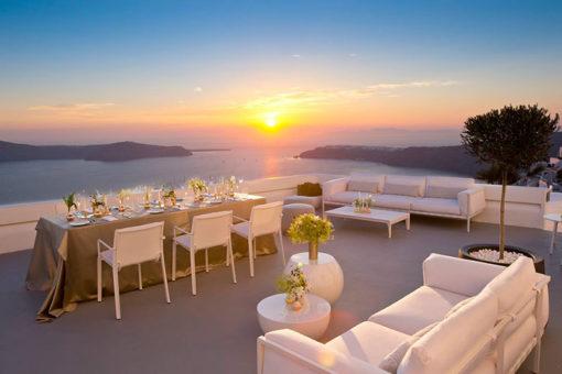 Grace Santorini in Santorini - Naido Wedding