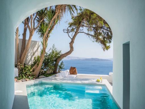 Lucien Villas in Santorini - Naido Wedding