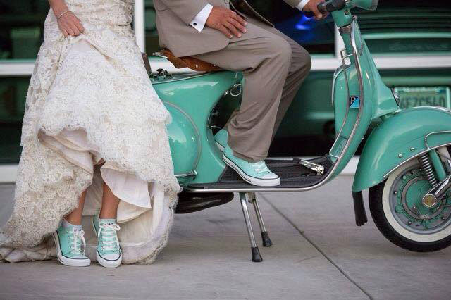 My Vintage Scooter Wedding - Naido Wedding