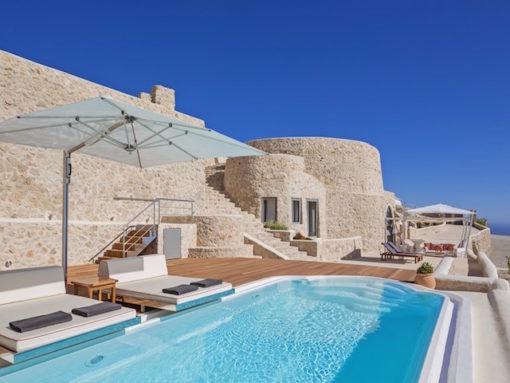 Oblivion Villas in Santorini - Naido Wedding