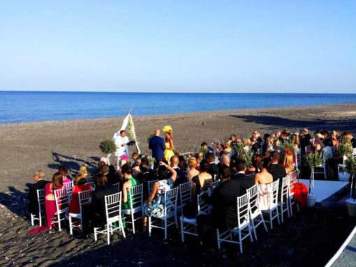 Oceanids Estate in Santorini - Naido Wedding