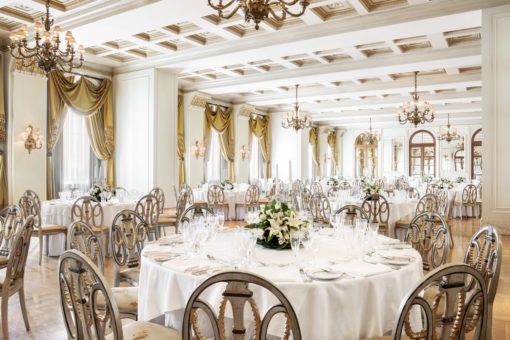 The Grand Ballroom - Wedding Set Up